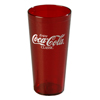 Carlisle Coca-Cola® Stackable Tumbler, Ruby 20 oz. CFS 52203550CS