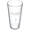 Carlisle Coca-Cola® Stackable™ SAN Tumbler CFS 52203550A