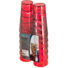 Carlisle Stackable SAN Tumbler 24 oz (12/pk) - Ruby CFS 5224-8210CS
