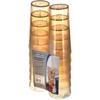 Carlisle Stackable SAN Tumbler 24 oz (12/pk) - Amber CFS 5224-8213CS