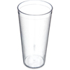 Carlisle Stackable SAN Plastic Tumbler 24 oz - Clear CFS 522407CS