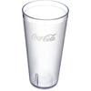 Carlisle Coca-Cola® Stackable SAN Plastic Tumbler 32 oz (72ea) - Coke - Clear CFS 5232-63550JCS