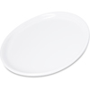 "Carlisle Stadia Melamine Bread and Butter Plate 7.25"" - White CFS5300202CS"