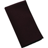 "Carlisle SoftWeave Napkin 17"" x 17"" - Black CFS 53781717NM014CS"