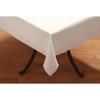 "Carlisle SoftWeave Square Tablecloth 52"" x 52"" - White CFS 53785252SM010CS"