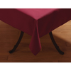 "Carlisle SoftWeave Square Tablecloth 52"" x 52"" - Burgundy CFS 53785252SM046CS"