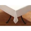 "Carlisle SoftWeave Rectangular Tablecloth 52"" x 108"" - White CFS 537852AITM010CS"