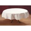 "Carlisle SoftWeave Tablecloth Round 90"" - White CFS 537890RM010CS"