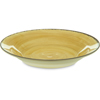 Carlisle Mingle Melamine Rimmed Soup Bowl 28.5 oz - Amber CFS 5400313CS