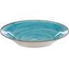Carlisle Mingle Melamine Rimmed Soup Bowl 28.5 oz - Aqua CFS 5400315CS
