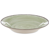 Carlisle Mingle Melamine Rimmed Soup Bowl 28.5 oz - Jade CFS 5400346CS