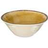Carlisle Mingle Melamine Ice Cream Bowl 27 oz - Amber CFS 5400413CS