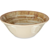 Carlisle Mingle Melamine Ice Cream Bowl 27 oz - Copper CFS 5400417CS