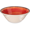 Carlisle Mingle Melamine Ice Cream Bowl 27 oz - Fireball CFS 5400452CS