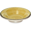 Carlisle Mingle Melamine Fruit Bowl 4.5 oz - Amber CFS 5401813CS