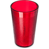 Carlisle Stackable SAN Plastic Tumbler 9.5 oz - Ruby CFS 550610CS