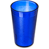 Carlisle Stackable SAN Plastic Tumbler 9.5 oz - Royal Blue CFS 550647CS