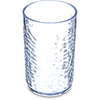 Carlisle Pebble Optic SAN Tumbler 9.5 oz - Clear CFS 550907CS