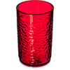 Carlisle Pebble Optic SAN Tumbler 9.5 oz - Ruby CFS 550910CS