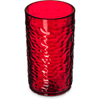 Carlisle Pebble Optic SAN Tumbler 12 oz - Ruby CFS 551210CS