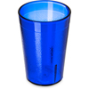 Carlisle Stackable SAN Plastic Tumbler 8 oz - Royal Blue CFS 552647CS