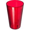 Carlisle Stackable SAN Plastic Tumbler 32 oz - Ruby CFS 553210CS