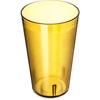 Carlisle Stackable SAN Plastic Tumbler 32 oz - Amber CFS 553213CS