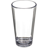 Carlisle Alibi Plastic Pint Mixing Glass 16 oz (4ea) - Clear CFS 5616-407CS