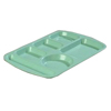 Carlisle Left-Hand Economy Melamine Compartment Tray Variegated CFS 586500CS