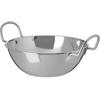 "Plates Balti Dishes: Carlisle - Balti Dish 44 oz, 7-1/2"" - Stainless Steel"