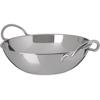"Plates Balti Dishes: Carlisle - Balti Dish 72 oz, 9-1/2"" - Stainless Steel"