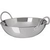 "Plates Balti Dishes: Carlisle - Balti Dish 3 qt, 10-1/4"" - Stainless Steel"