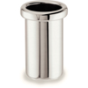 "Carlisle Double Wall Wine Cooler, Satin Finish w/Mirror Finish Rim 5"" CFS 609145CS"