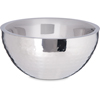 "Dual Angle Bowl w/Hammered Finish 1.7 qt / 8"" - Stainless Steel"
