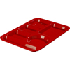 Carlisle Left-Hand 6-Compartment Tray - Red CFS 61405CS