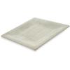 "Carlisle Grove Melamine Square Plate 10.5"" - Buff CFS 6402206CS"