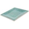 "Carlisle Grove Melamine Square Plate 10.5"" - Aqua CFS 6402215CS"