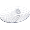 "Festival Trays Round Tray 13"" - Clear"