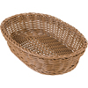 "Carlisle Woven Baskets Oval Basket 11.5"" - Caramel CFS 655125CS"