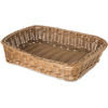 "Carlisle Woven Baskets Rectangular Basket 11.5"" - Tan CFS 655225CS"