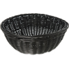 "Carlisle Woven Baskets Round Basket 9"" - Black CFS 655303CS"