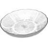 Carlisle Petal Mist® Soup/Salad Plate 23.9 oz, 7-15/16 - Clear CFS 690707CS