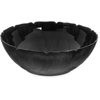 "Carlisle Petal Mist® Bowl 17.2 qt, 18"" - Black CFS 691903CS"