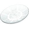 "Carlisle Petal Mist® Plate 7-11/16"" - Clear CFS 695407CS"