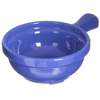 "Carlisle Handled Soup Bowl 8 oz, 4-5/8"" - Ocean Blue CFS 700614CS"