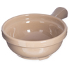 "Carlisle Handled Soup Bowl 8 oz, 4-5/8"" - Stone CFS 700619CS"