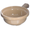 "Carlisle Handled Soup Bowl 12 oz, 5-1/4"" - Stone CFS 700819CS"