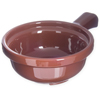 "Carlisle Handled Soup Bowl 12 oz, 5-1/4"" - Lennox Brown CFS 700828CS"