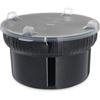 Carlisle Gourmet Crocks w/Lid - Black CFS703903CS