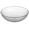 Carlisle Round Pebbled Bowl 1.7 qt - Clear CFS 720807CS